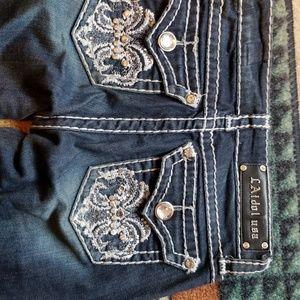 La Idol bootcut Jean's size 1